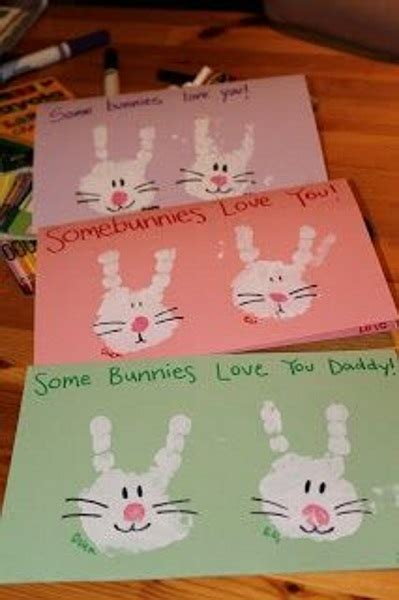 easter card ideas for children to make 40 easy easter crafts for pink lover