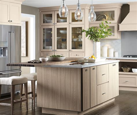 Transitional Kitchen Cabinets by Toekick Vacuum Cabinet Schrock Cabinetry