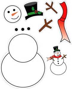 Snowman craft cut out christmas snowman cut out printable snowman