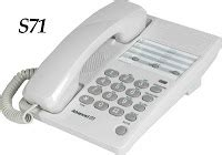 Telepon Wireless Sahitel S71 daftar harga pabx fax cctv