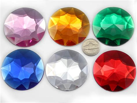 50mm ruby h103 large self adhesive jewels