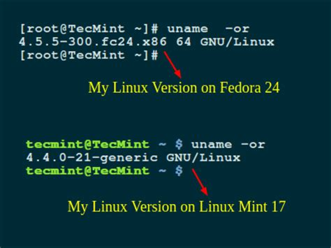 find name pattern linux how to find out what version of linux you are running