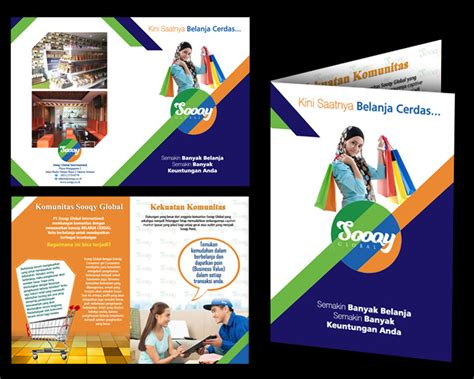 desain brosur distro sribu desain flyer brosur desain brosur untuk minimarket