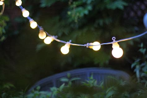 Outdoor Bulb Lights String Outdoor String Of Light Bulbs Extendable Length 6m By The Wedding Of My Dreams