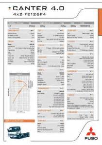 Mitsubishi Fuso Dimensions 10 Technical Data 10 6 Frame Structure Mitsubishi Fuso