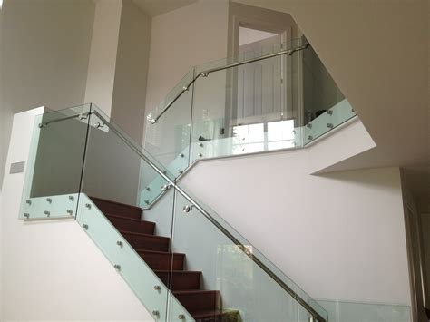 glass banister rails frameless glass system balustrading solutions sabs