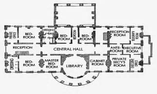 Floor Plan Of The White House by Gallery For Gt White House Floor Plan Third Floor