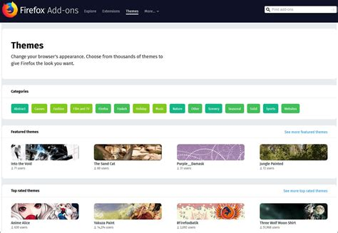 firefox themes addons download meet the all new mozilla browser firefox quantum