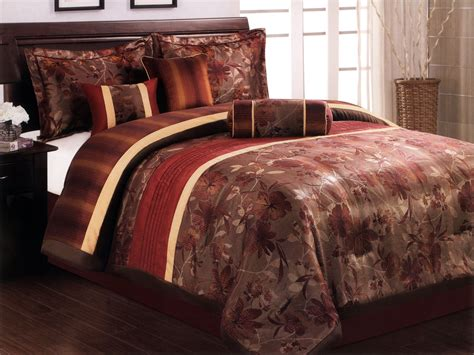 burnt orange bedding burnt orange bed comforter from sears com