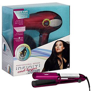 Conair Hair Dryer Customer Service conair infiniti hair dryer and curling iron bundle