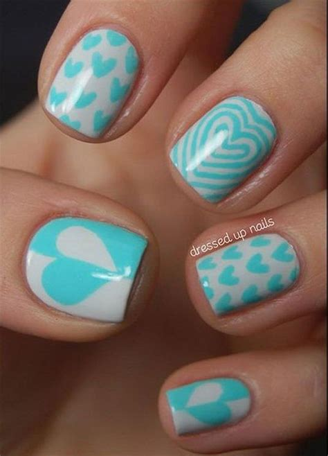 easy cute valentines day nail art designs ideas