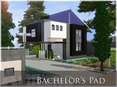 bachelor house the sims resource tsr bachelors pad house by aloleng