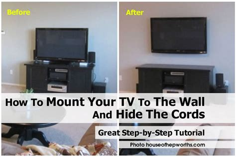 how high to mount tv on wall in living room how to mount your tv to the wall and hide the cords