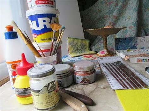 tools and materials for decoupage you need to beginners