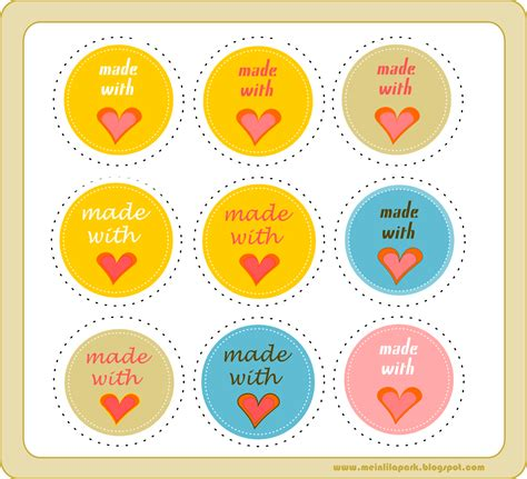 printable gift tags made with love free printable made with love circle tags ausdruckbare