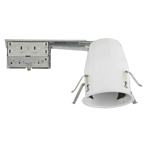 led remodel can lights 4 quot remodel led recessed can light ic402r led