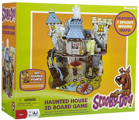 Haunted House Board by Scooby Doo Haunted House Board Review Gamingunplugged