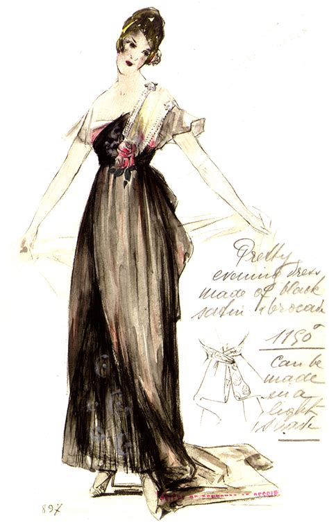house worth file satin evening dress by house of worth 1916 jpg wikimedia commons