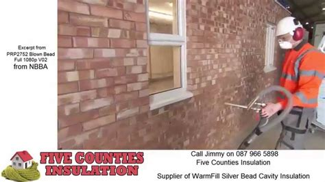 blown bead cavity wall insulation