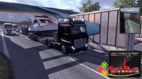 minecraft boat on trailer ets 2 boat and trailer fliegl wood trailer v 1 0 skins
