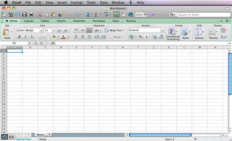 excel 2008 and excel 2011 mapping