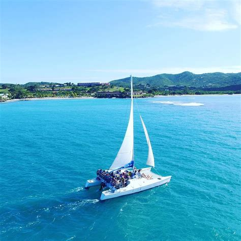 buck island catamaran sail and snorkel private boat sailing charters st croix buck island