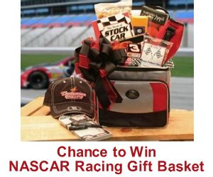 gifts for nascar fans nascar racing gift basket sweepstakes kudosz gift baskets
