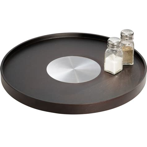 Countertop Lazy Susan by Table Lazy Susan Turntable Bamboo In Lazy Susan Turntables