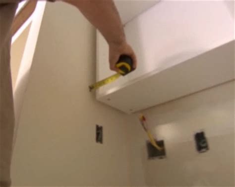 how to install a cabinet filler upper cabinet filler installation