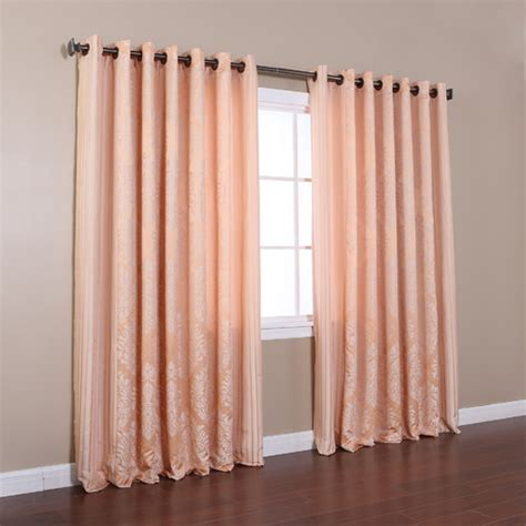 how wide is a curtain panel wide width grommet curtain panels bing images
