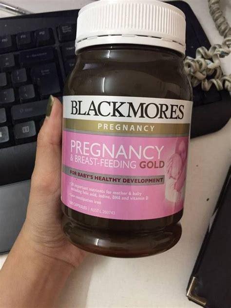 Vitamin Blackmores Pregnancy Vitamin Bầu Blackmores Pregnancy Gold Mẫu Mới 180 Vi 234 N