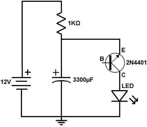 describe how resistors capacitors diodes and transistors work using exles how to build a relaxation oscillator with a transistor