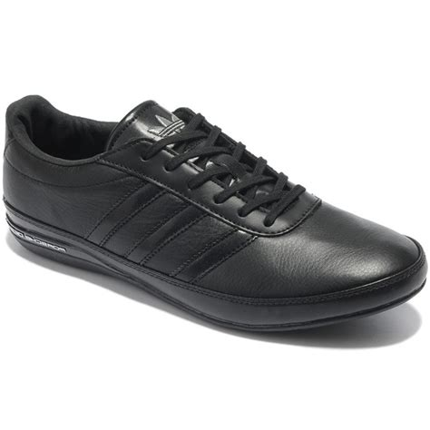 Adidas Ad01 Black buy adidas original synthetic leather casual shoes ad01