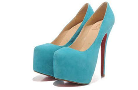 sky blue high heels fashionable and shoes fashion christian louboutin