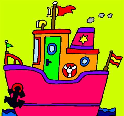 barco con ancla dibujo dibujo de barco con ancla pintado por mamacris en dibujos