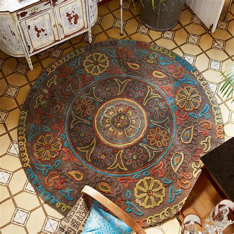 Petit Tapis 3405 by Esprit Mandala Rugs 3405 03 Free Uk Delivery The Rug