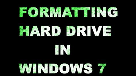 format hard drive jjos how to format hard drive on windows 7 using computer