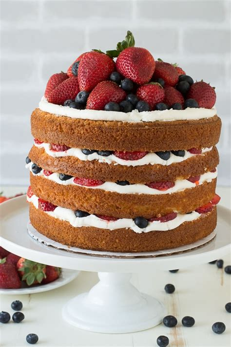 Eat In Kitchen Ideas by Vanilla And Fresh Berry Cake The First Year