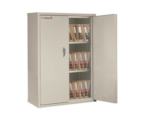Storage Cabinets with End Tab Filing   FireKing