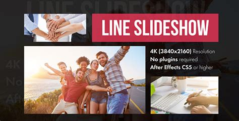 Line Slideshow Modern After Effects Template By Yura Fresh Videohive Food Menu Slideshow After Effects Template Free