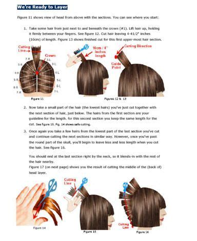 haircut directions for a stylist short layered messy version hairstyle haircutting