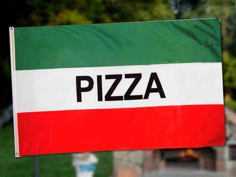 Selasa Promo Bunting Flag Motif Pizza pizza flag