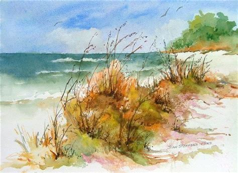watercolor tutorial beach 250 best images about sea landscapes on pinterest
