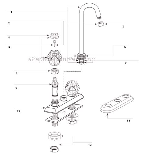 Which Of These Faucet Parts Is The Aerator by Moen Faucet Aerator Parts Images