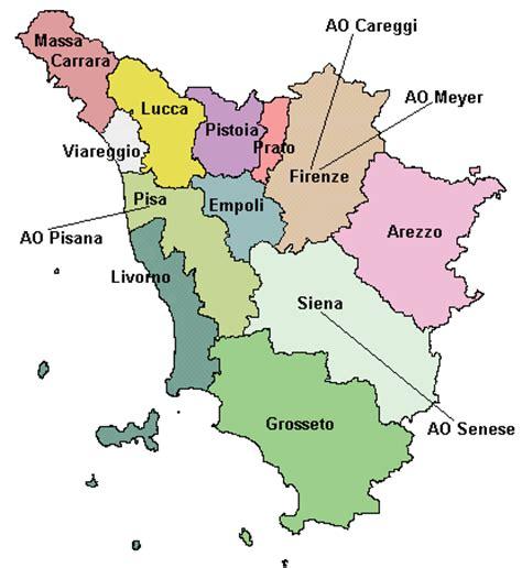regione toscana uffici dove attivarla