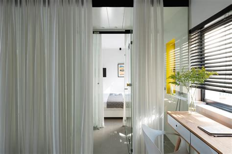 600 sq ft house interior design 600 square foot apartment uses glass walls to create two bedrooms idesignarch interior