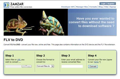 converter zamzar how to convert flv to vob leawo tutorial center