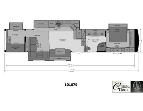 2 bedroom rv floor plans 2 bedroom 5th wheel floor plans cer pinterest
