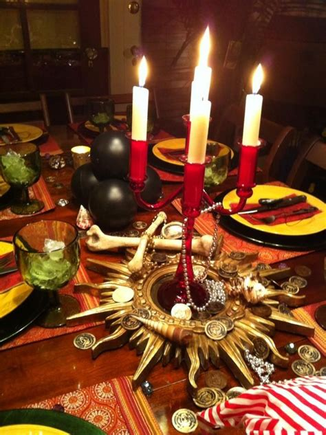 pirate themed table decorations best 25 pirate tables ideas on pirate