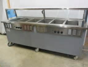 Buffet Steam Table With Sneeze Guard Plates Restaurant Equipment